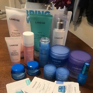 LANEIGE Huge Lot of Full Size and Travel